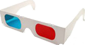 Brille anaglyph